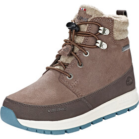 Viking Footwear Rotnes GTX Zapatillas Niños, dark brown/light brown